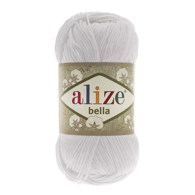 ALIZE BELLA - 55 WHITE