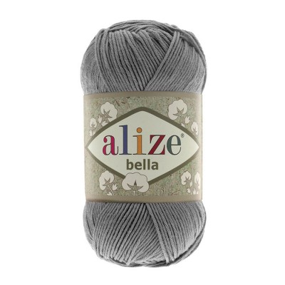 ALIZE BELLA - 87 COAL GRAY