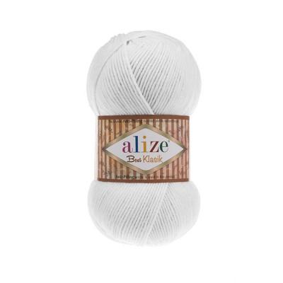 ALIZE BEST KLASIK - 55 WHITE
