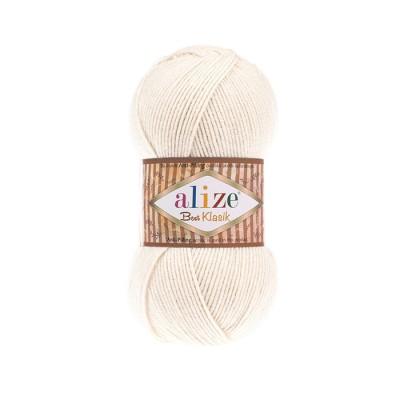 ALIZE BEST KLASIK - 62 LIGHT CREAM