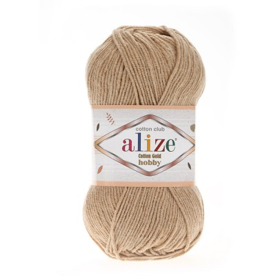 ALIZE COTTON GOLD ΗΟΒΒΥ - 262 BEIGE
