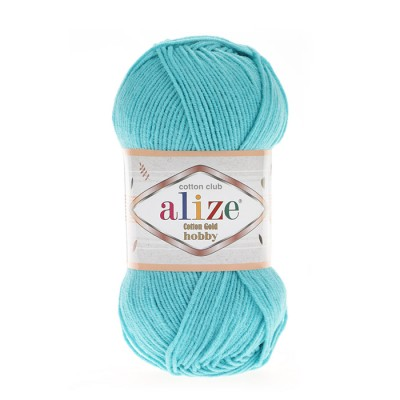 ALIZE COTTON GOLD ΗΟΒΒΥ - 287 TORQUOISE