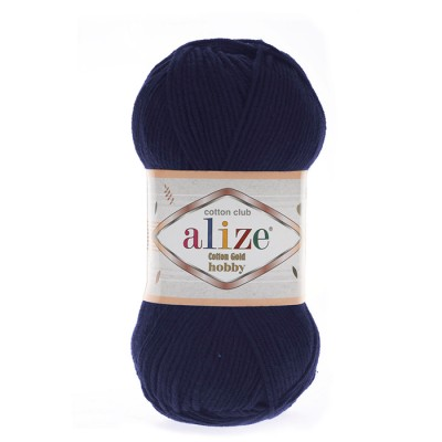 ALIZE COTTON GOLD ΗΟΒΒΥ - 58 NAVY BLUE