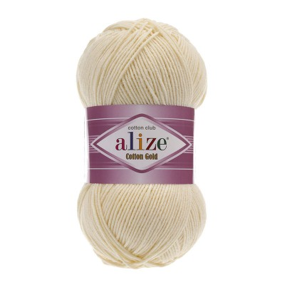 ALIZE COTTON GOLD - 01 CREAM