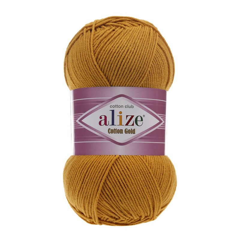 ALIZE COTTON GOLD - 02 MUSTARD