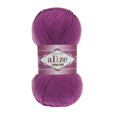 ALIZE COTTON GOLD - 122 PLUM