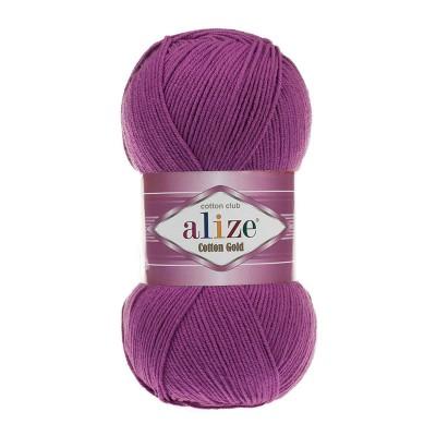 ALIZE COTTON GOLD - 122 PLUM