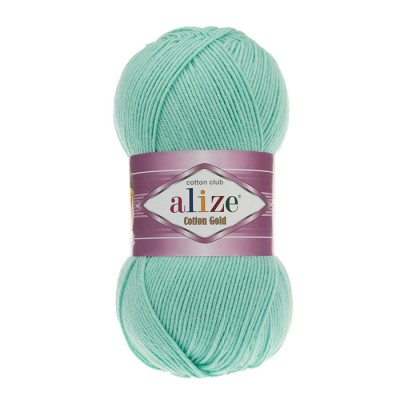 ALIZE COTTON GOLD - 15 WATER GREEN