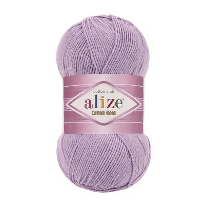 ALIZE COTTON GOLD - 166 LILAC