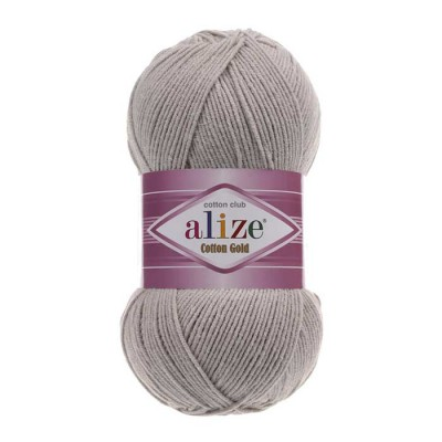 ALIZE COTTON GOLD - 200 GRAY