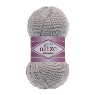 ALIZE COTTON GOLD - 21 GRAY MELANGE