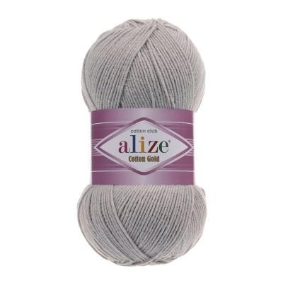 ALIZE COTTON GOLD - 21 GRAY MELANGE