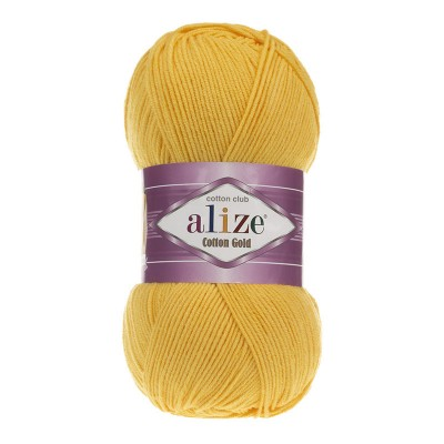 ALIZE COTTON GOLD - 216 DARK YELLOW