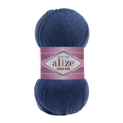 ALIZE COTTON GOLD - 279 MIDNIGHT BLUE