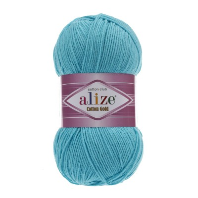 ALIZE COTTON GOLD - 287 TURQUOISE
