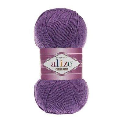ALIZE COTTON GOLD - 44 PURPLE