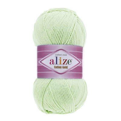 ALIZE COTTON GOLD - 478 BABY GREEN