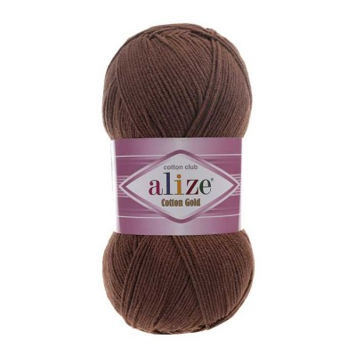ALIZE COTTON GOLD - 493 BROWN