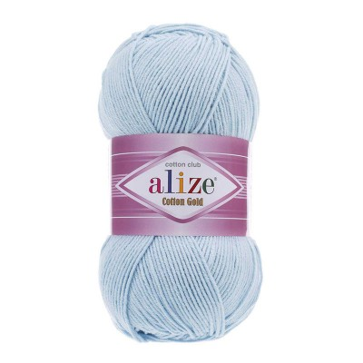 ALIZE COTTON GOLD - 513 CRYSTAL BLUE