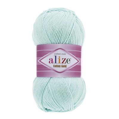 ALIZE COTTON GOLD - 514 ICE BLUE