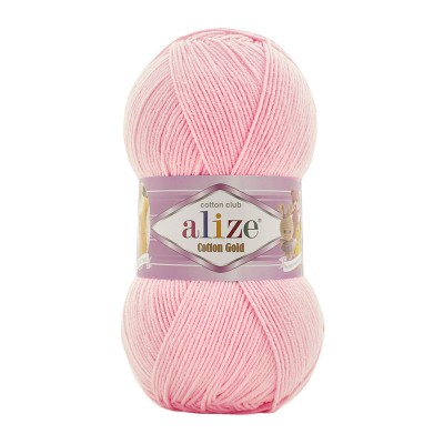 ALIZE COTTON GOLD - 518 BALLERINA PINK