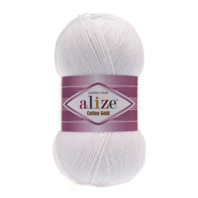 ALIZE COTTON GOLD - 55 WHITE