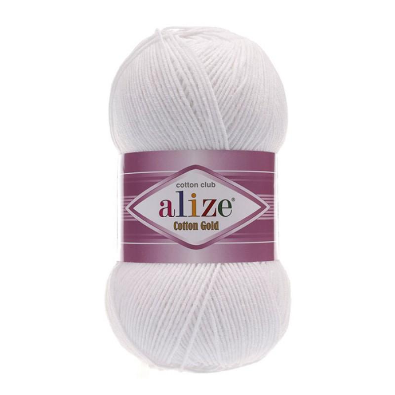 ALIZE COTTON GOLD - 55 WHITE