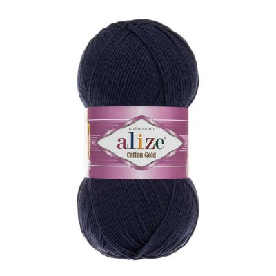 ALIZE COTTON GOLD - 58 NAVY BLUE