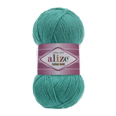 ALIZE COTTON GOLD - 610 EMERALD GREEN