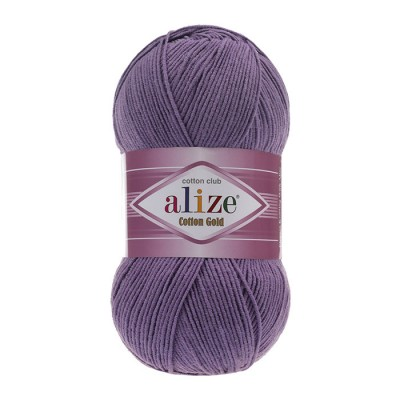 ALIZE COTTON GOLD - 616 PURPLE