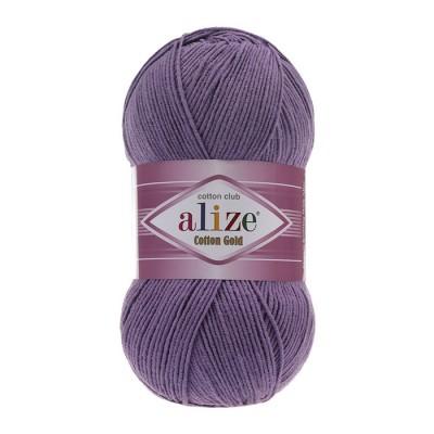 ALIZE COTTON GOLD - 616 PURPLE