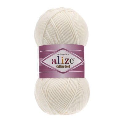 ALIZE COTTON GOLD - 62 LIGHT CREAM