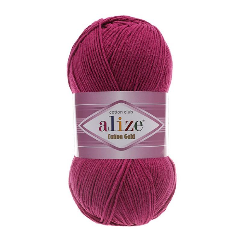 ALIZE COTTON GOLD - 649 RUBY