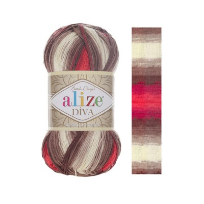 ALIZE DIVA BATIK - 4574