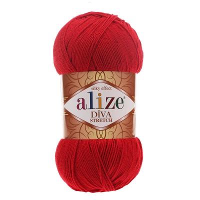 ALIZE DIVA STRETCH - 106 RED