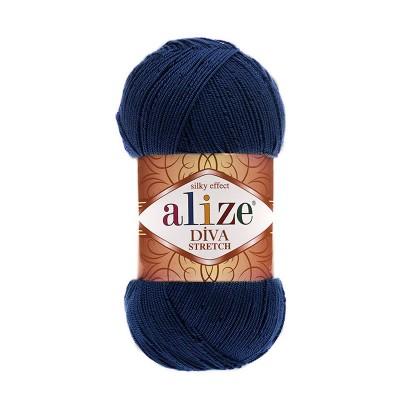 ALIZE DIVA STRETCH - 361 NAVY BLUE