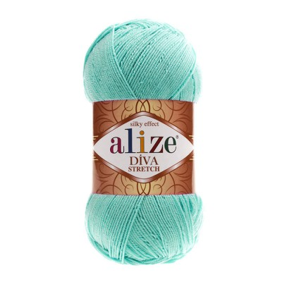 ALIZE DIVA STRETCH - 376 CYAN