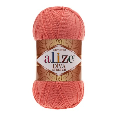 ALIZE DIVA STRETCH - 619 CORAL
