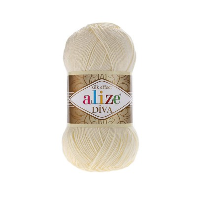 ALIZE DIVA - 01 CREAM