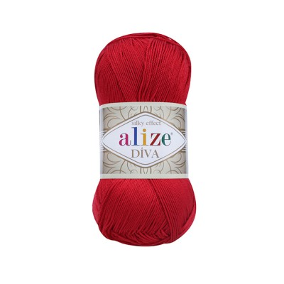 ALIZE DIVA - 106 RED