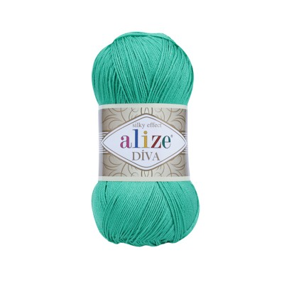 ALIZE DIVA - 123 EMERALD GREEN