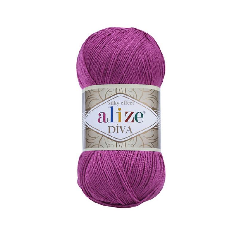 ALIZE DIVA - 130 FUCHSIA