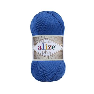 ALIZE DIVA - 132 ROYAL BULE