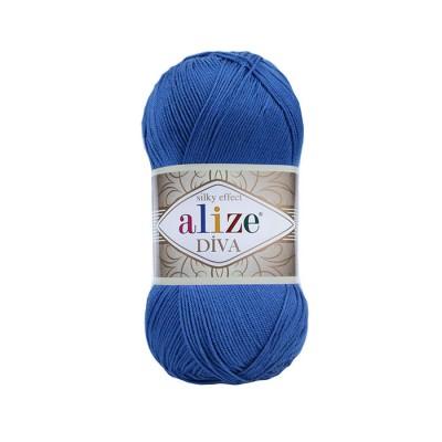 ALIZE DIVA - 132 ROYAL BULE