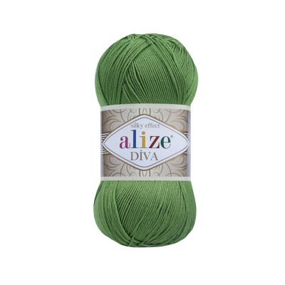 ALIZE DIVA - 210 GREEN