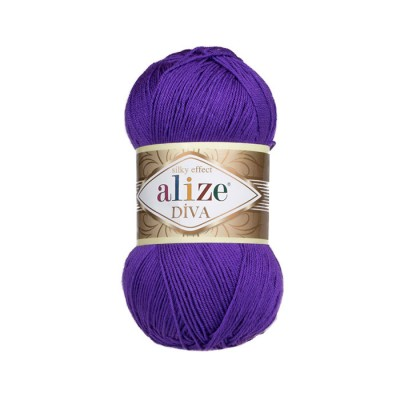 ALIZE DIVA - 252 BLUE PURPLE