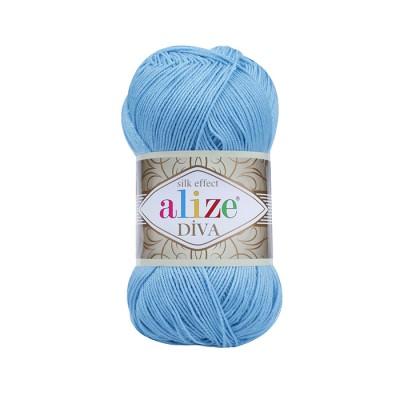 ALIZE DIVA - 346 SKY BLUE