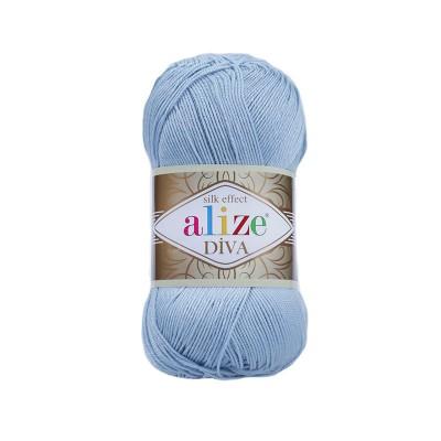 ALIZE DIVA - 350 SEA BLUE