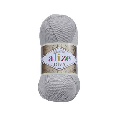 ALIZE DIVA - 355 GRAY