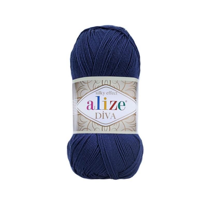 ALIZE DIVA - 361 NAVY BLUE